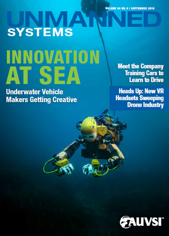 Unmanned Systems Magazine - September