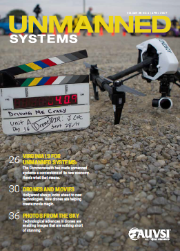 Unmanned Systems Magazien - April 2017