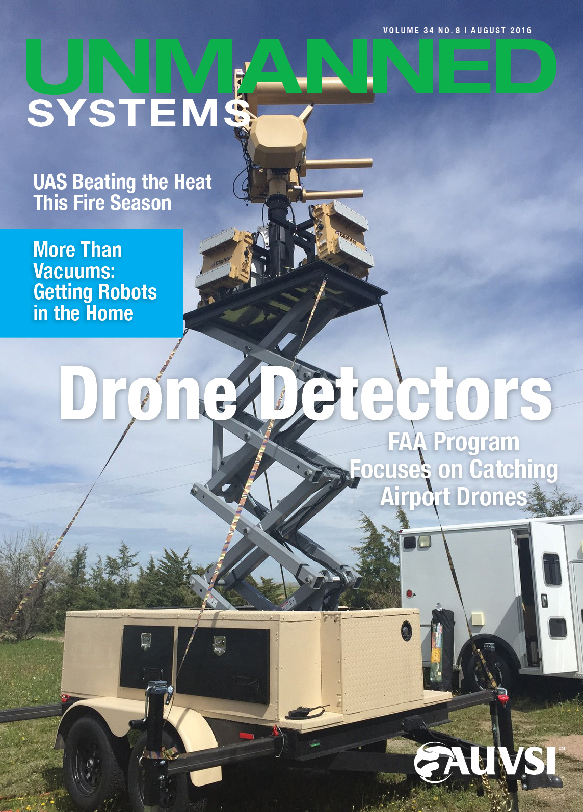 Unmanned Systems Magazine - August 2016
