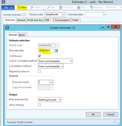 Capitalize a Project to a Fixed Asset in Dynamics AX 2012