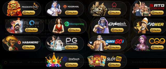Provider game slot online terbaik dan terpercaya Rajasloto