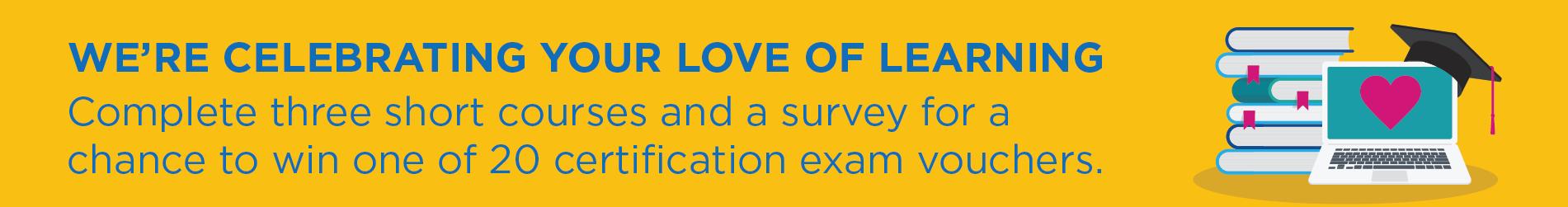 Blue Prism University Love Learning Promotion