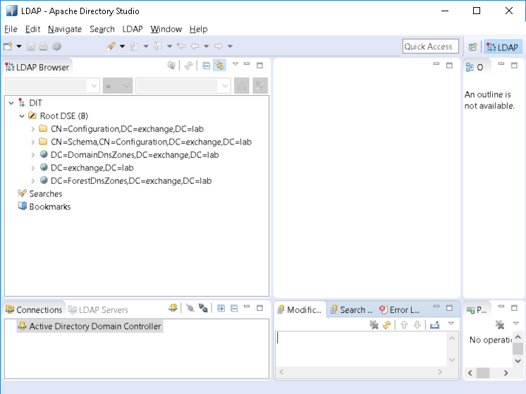 Use an LDAP GUI client on a locked-down Workstation: JDK