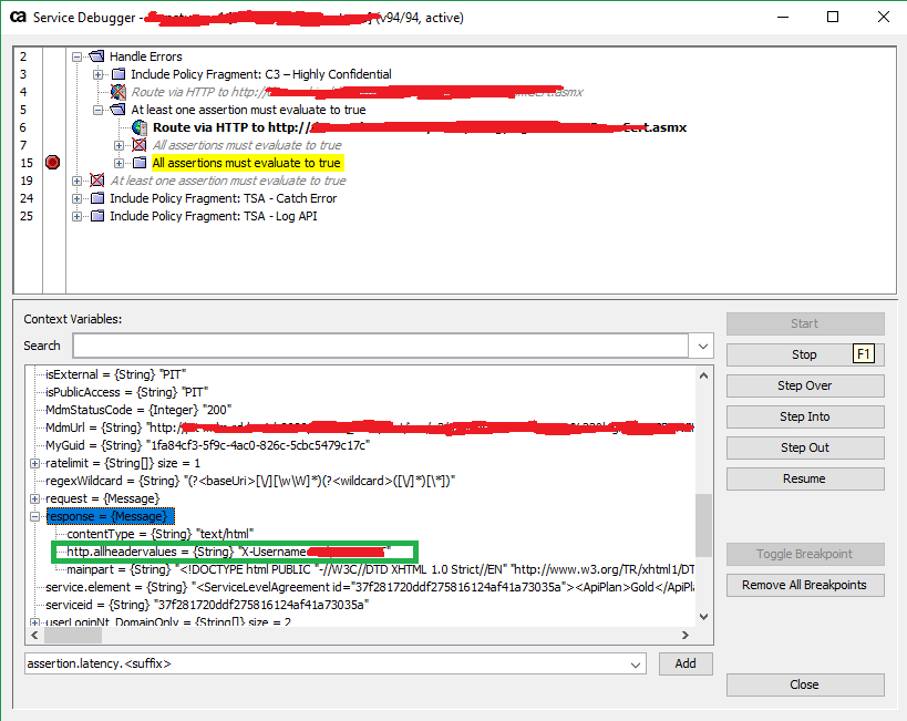 CA API Gateway] Response's authentication headers