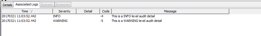 audit details