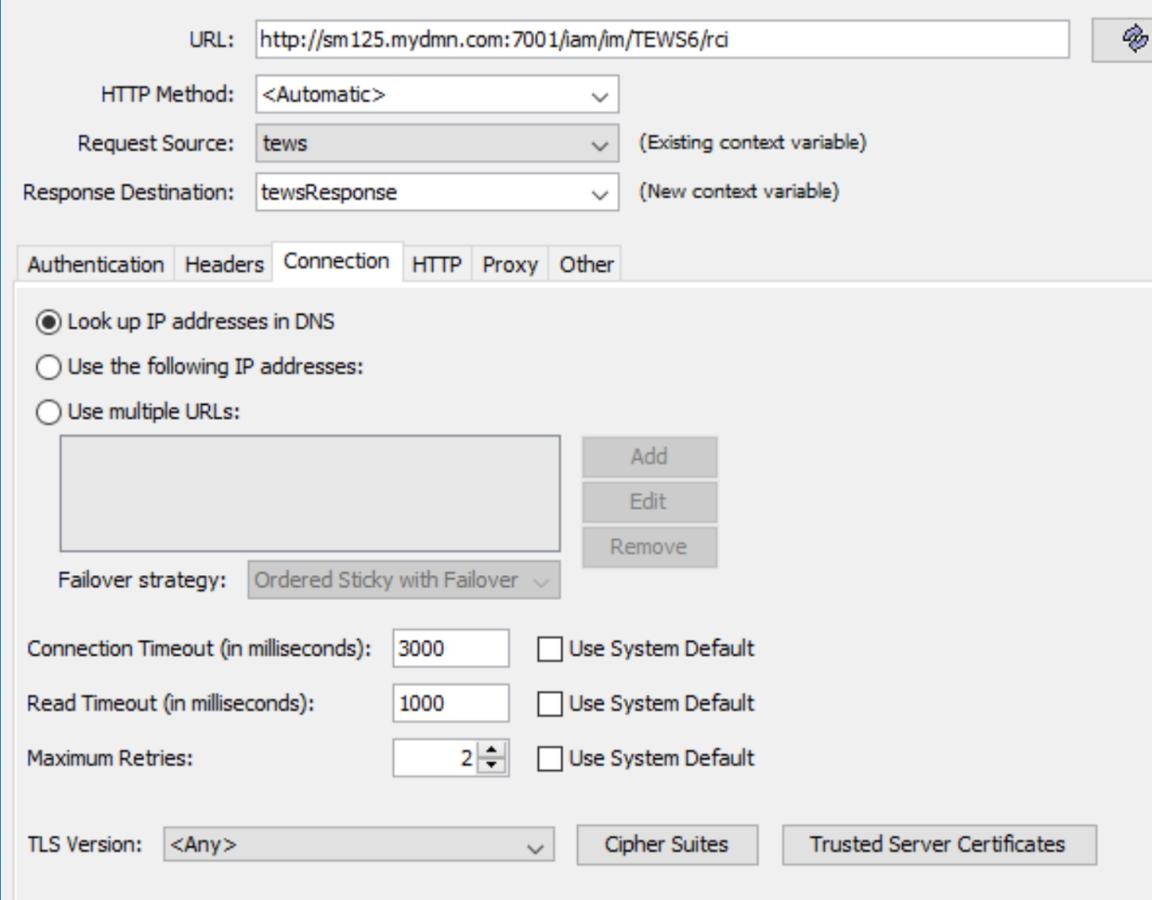 Gateway service properties retry | Layer 7 API Management