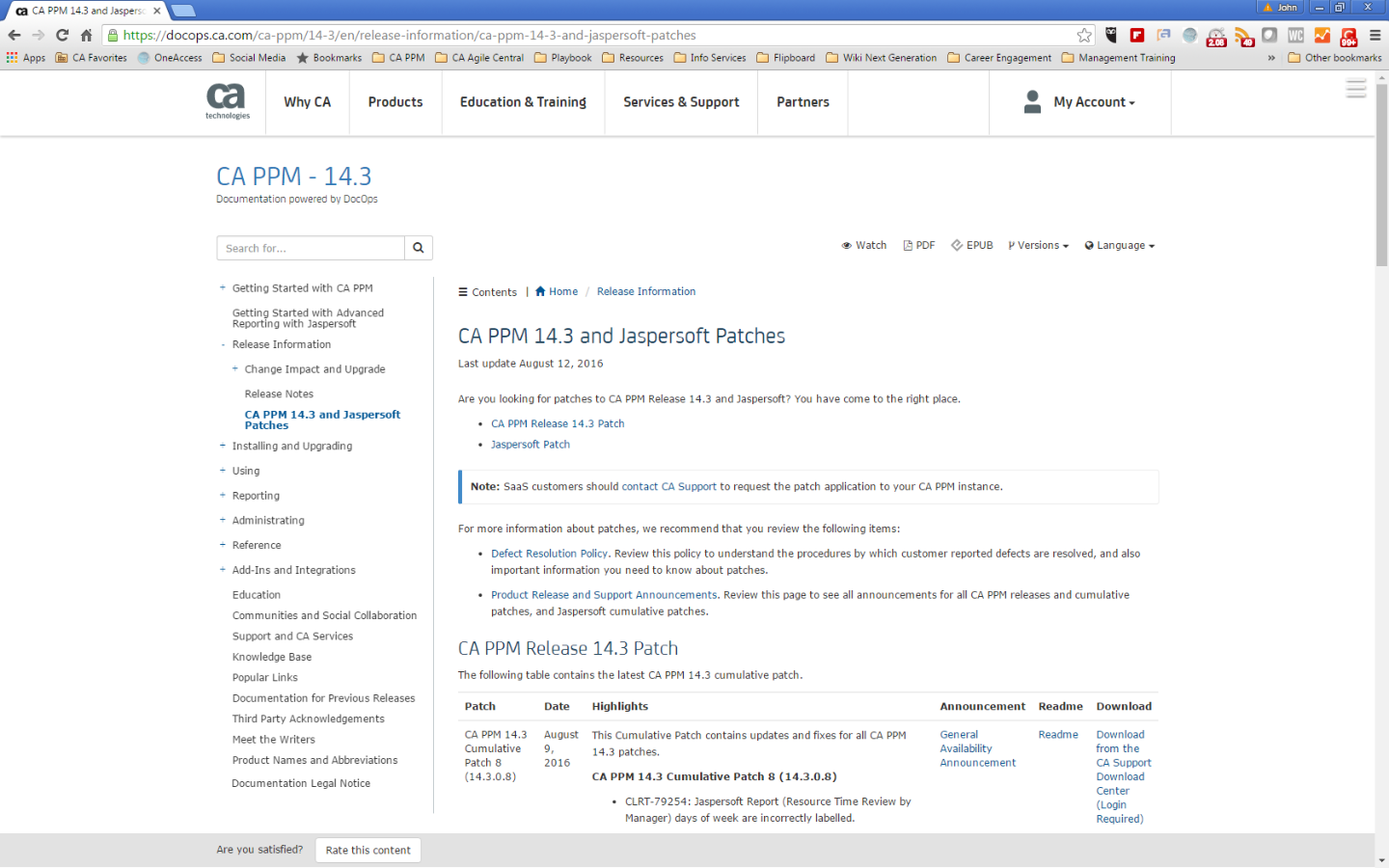 CA PPM and Jaspersoft Patches 2.png