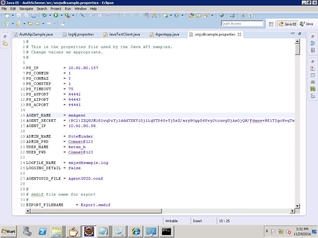 .properties file
