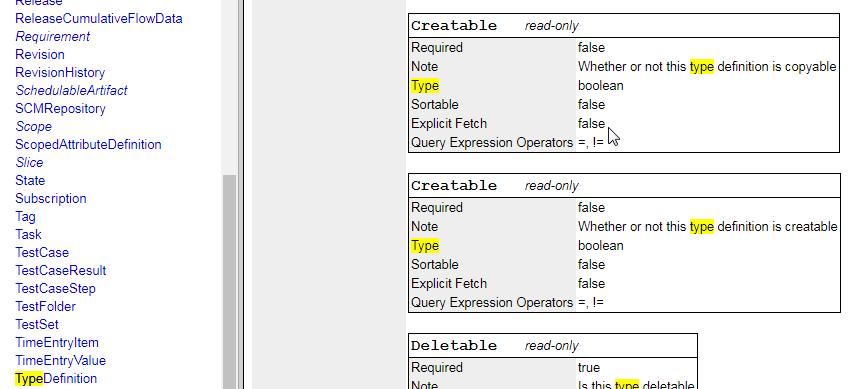 WSAPI V2.0 TypeDefinition 2.12.18