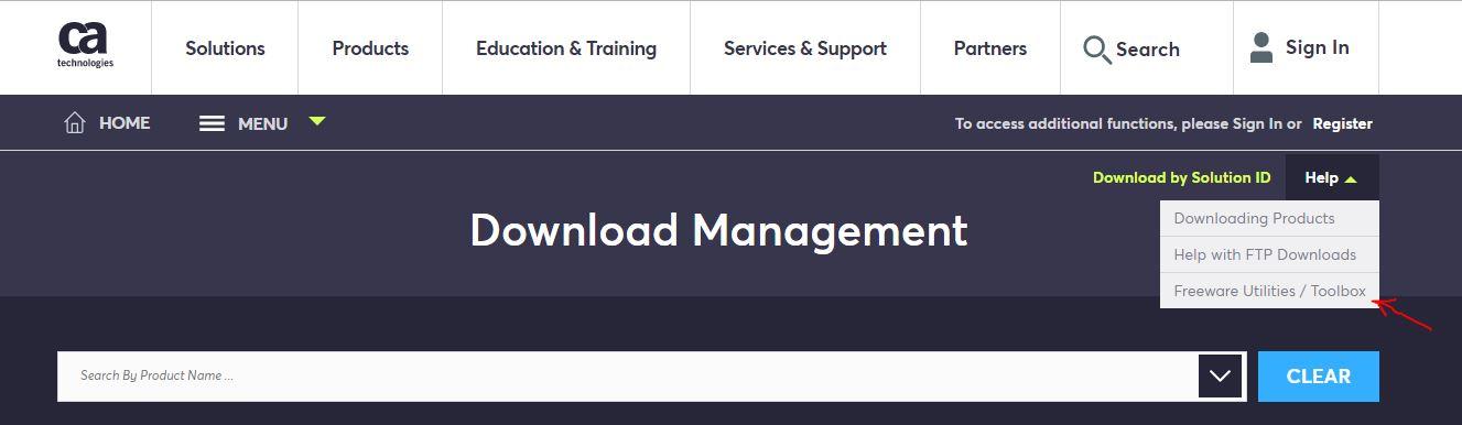 Download Management Help