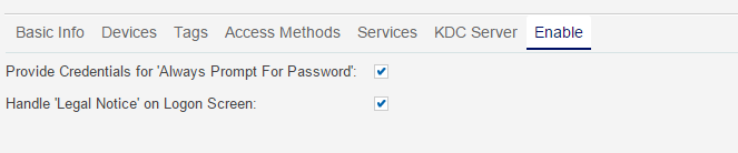 Any workarounds for CA PAM RDP Auto Logon when