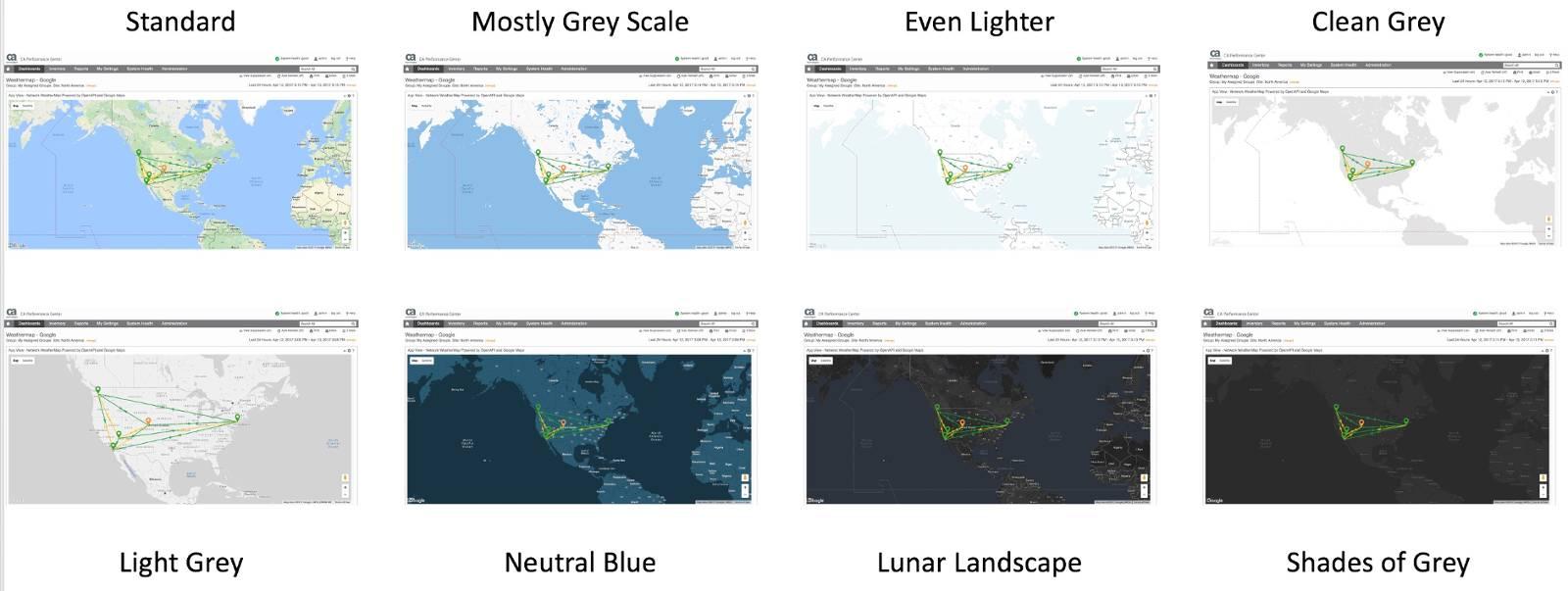 OpenAPI WeatherMap Themes