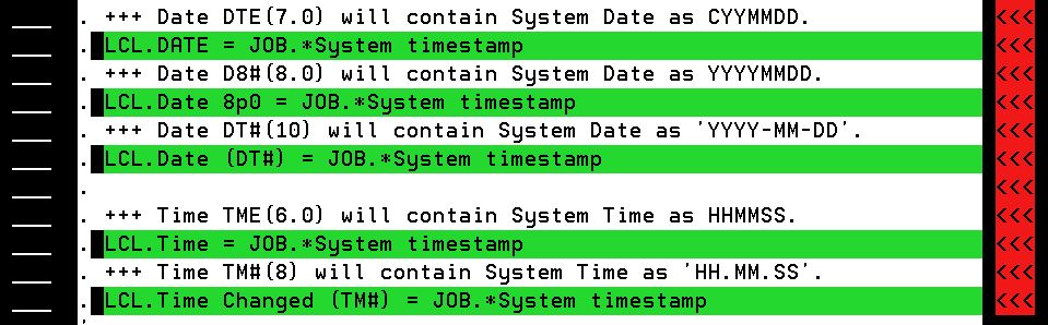 Getting the system date and time in 2E   Plex 2E