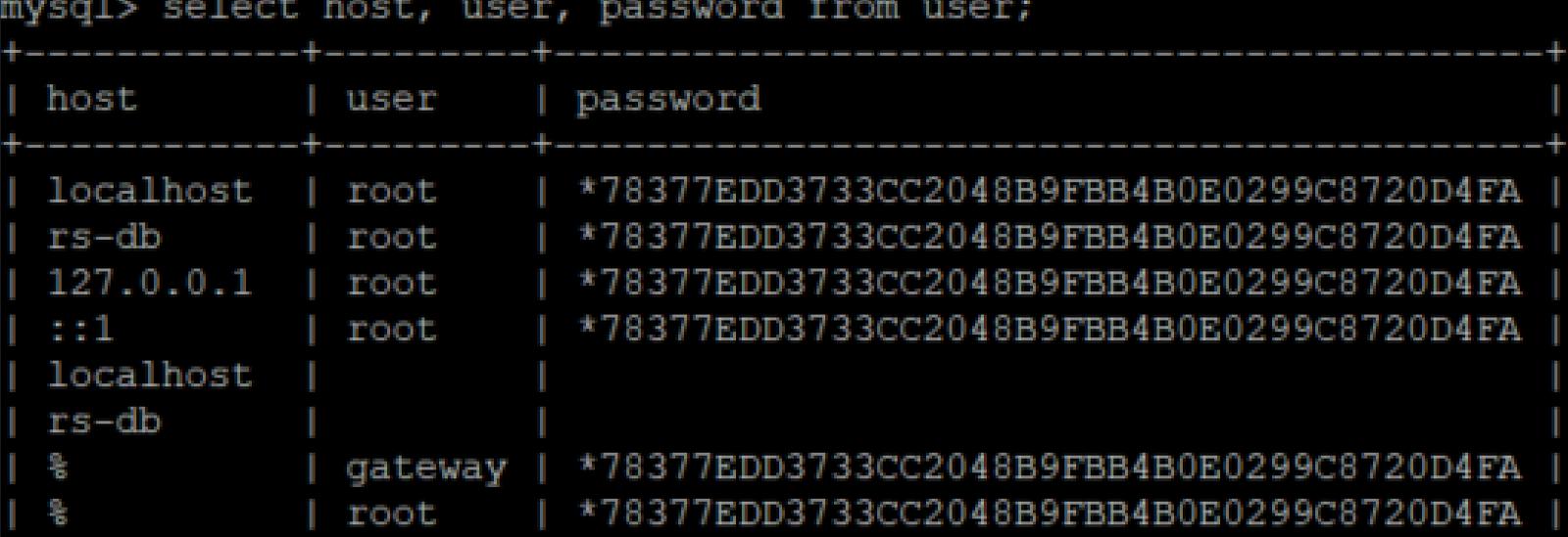 CA API Gateway MySQL database connection | Layer 7 API