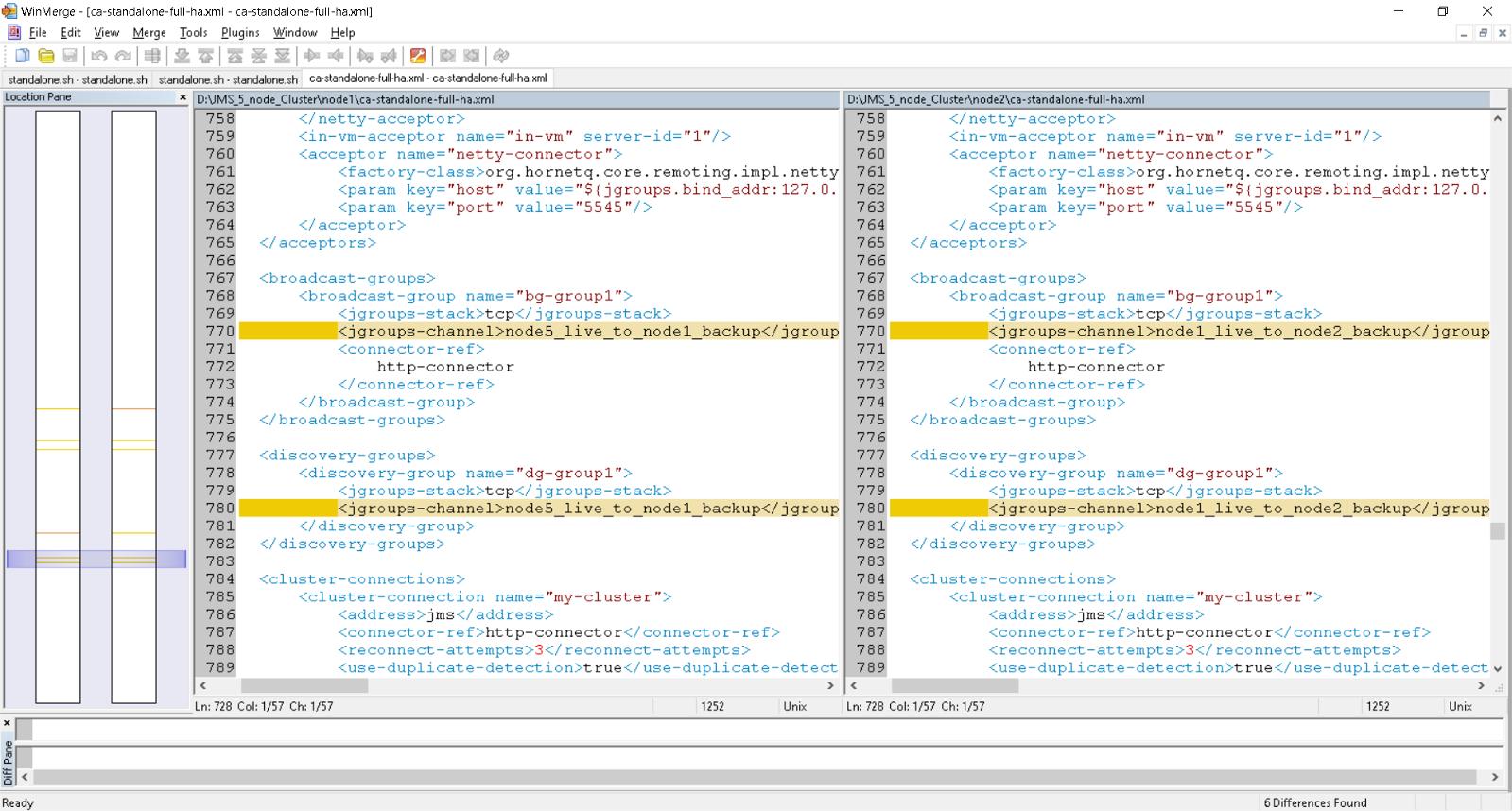 Wildfly 8 x (JBOSS EAP 7) Unicast & File Replication