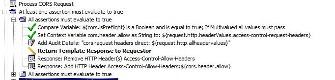 CORS Failing in IE when passing 3 headers | Layer 7 API