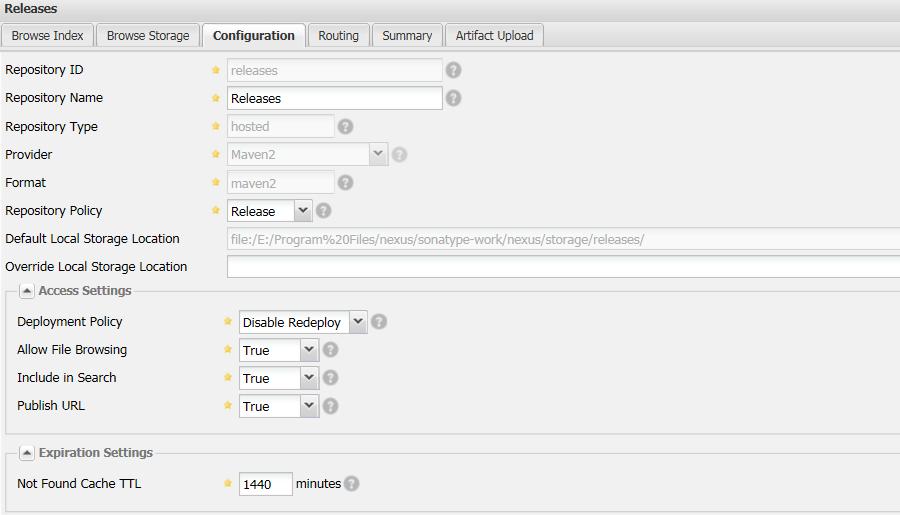 Upload Nexus artifact | Release Automation