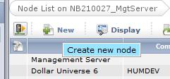 New node