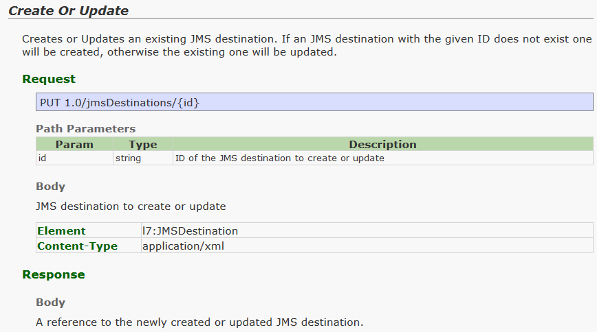 JMS poll Service Enable/Disable | Layer 7 API Management