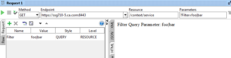 URI With Pipe is Invalid? | Layer 7 API Management