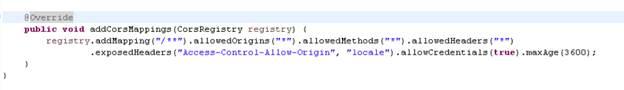 No Access-Control-Allow-Origin header is present on the