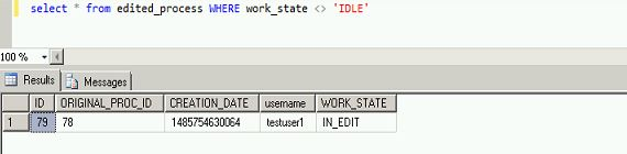Check process_id