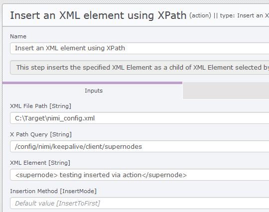 Delete/Add an XML attribute using XPath | Release Automation