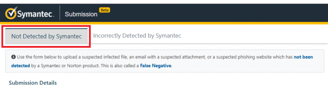 No Detected - Suspected Missed Malware and Phishing