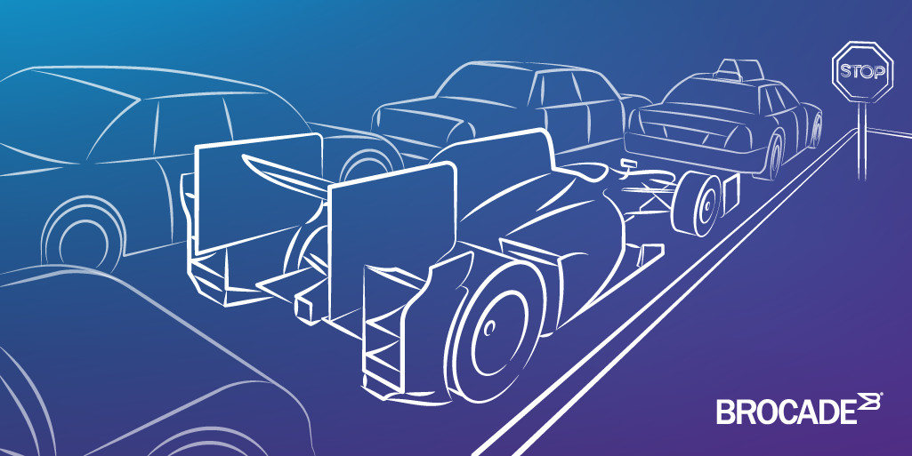 Indy Car for your commute, is like Flash Storage in a Legacy Network