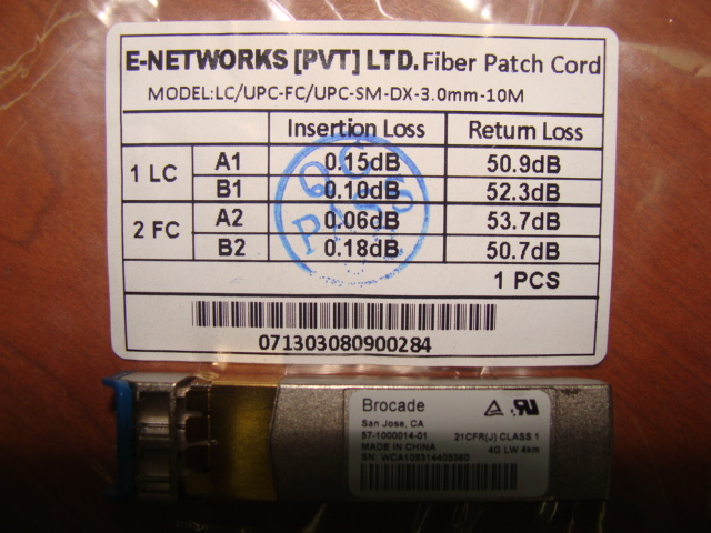 The Single Mode Fibre Path code