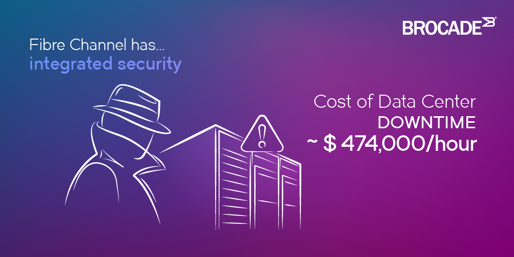 Cost of Data Center Downtime is $474,000 per hour
