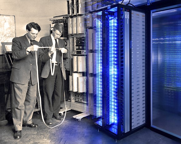 The past, present and future of top data center components