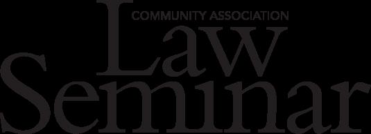 2020 Law Seminar