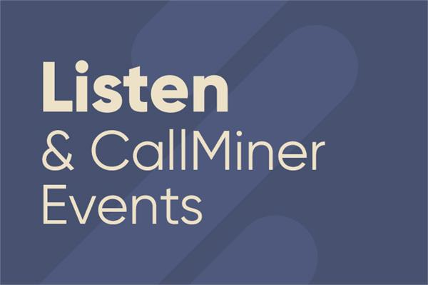 CallMiner Live Events