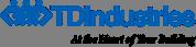TD Logo Linear Blue with Tagline