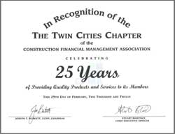 25 years recognition