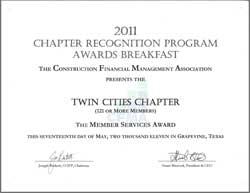 member services award