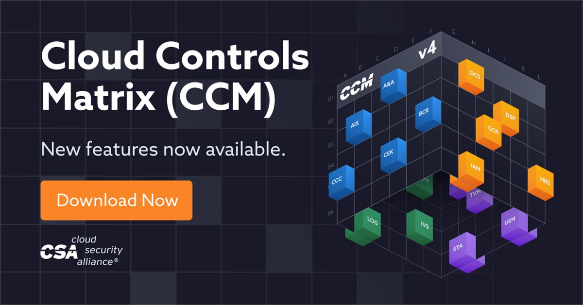 Cloud Controls Matrix v4