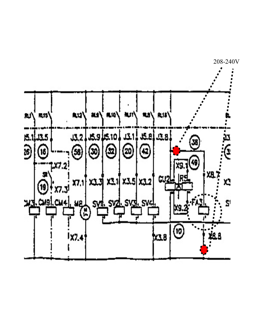 Cla Connect Open Forum Coin Laundry Association Diagram Parts List For Model Mlg19pddww Maytagparts Washer The Above Is Circuitry Of Door Lock System Fa3 Bi Metal Latch Cu2 Solenoid I Never See Actual Yet