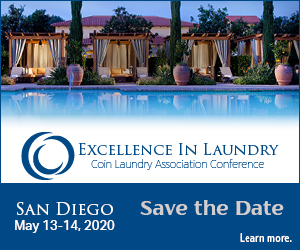 Excellence in Laundry 2020 - Save the Date