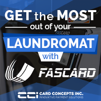 Get the most out of your laundromat with FasCard - December 2019