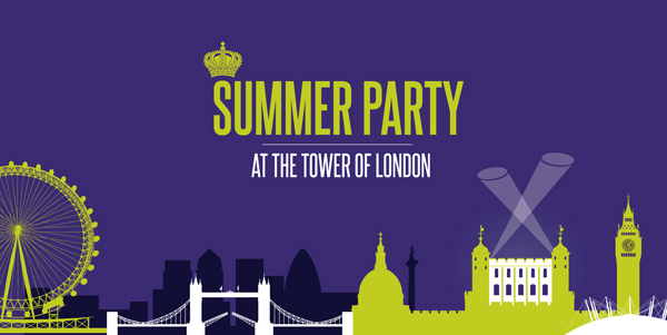 Summer Party Logo Saying