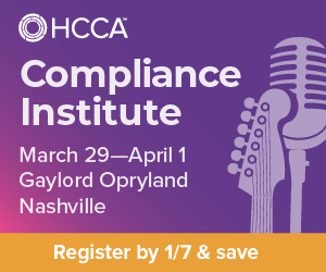 2020 HCCA Compliance Institute