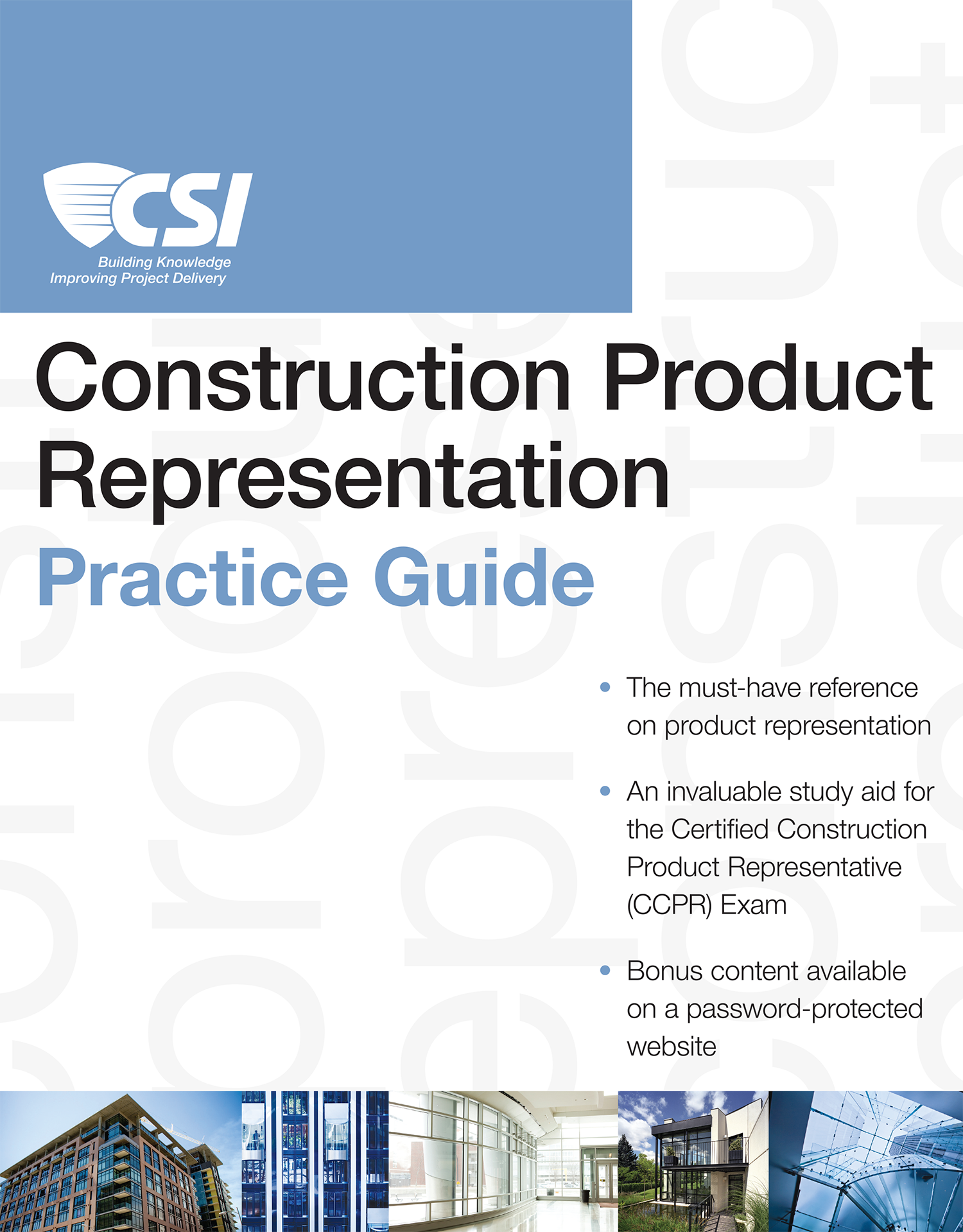 Construction Product Representation Practice Guide