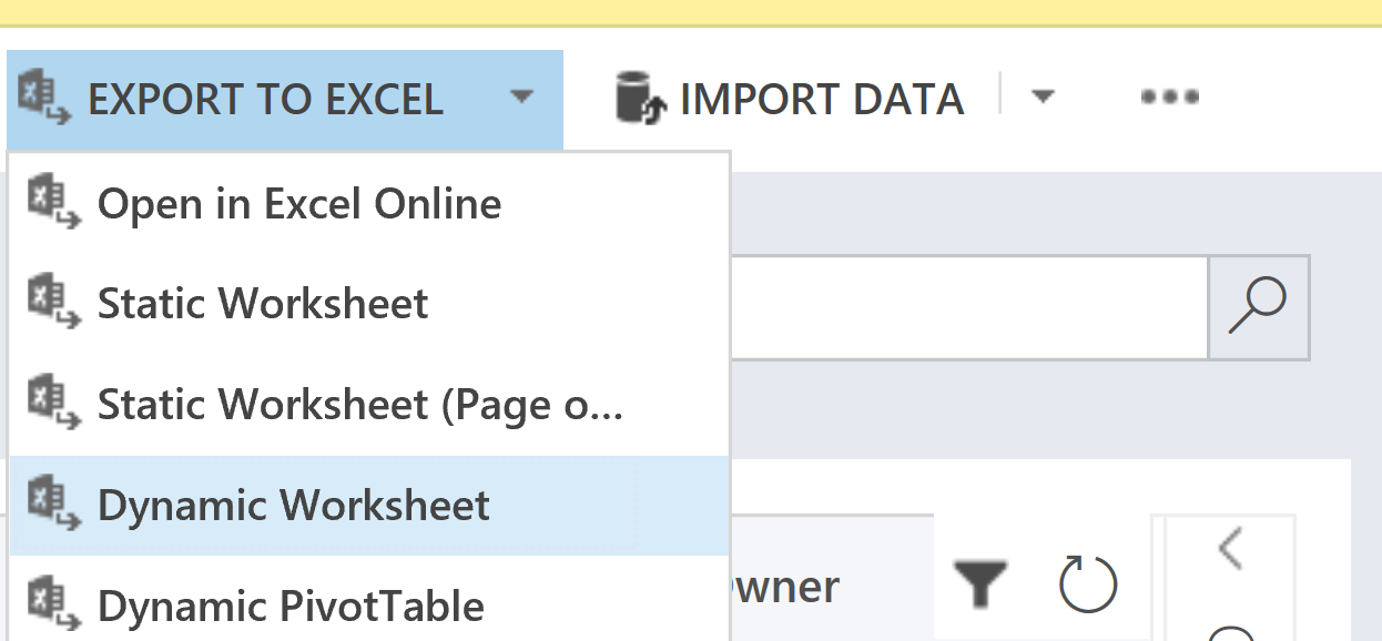 CRM Export Dynamic Worksheet | Customer Engagement