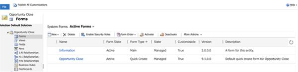 Customizing the Opportunity Close dialog/form in Dynamics 365