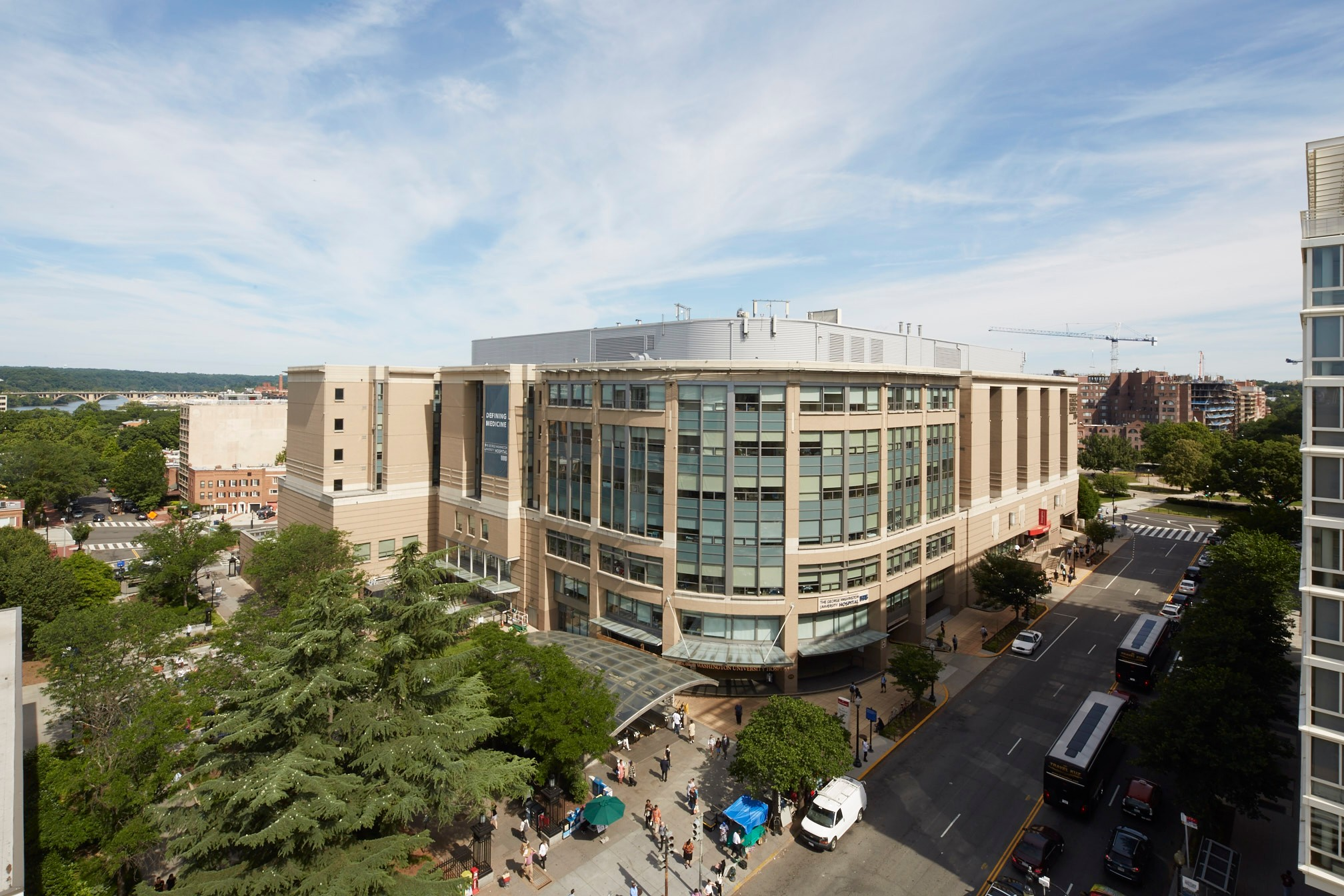 George Washington University Hospital Building