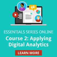 Essential Series: Applying Digital Analytics