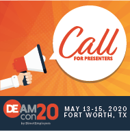 DEAMcon20 Call for Presenters