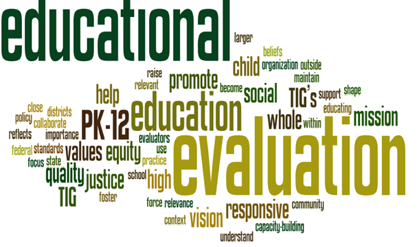 educational evaluation Sample evaluation form continuing education providers must provide a means for evaluating program content to students your participation is voluntary, but would be.
